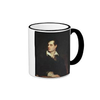 Retrato de señor Byron (1788-1824) (aceite en Taza A Dos Colores