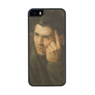 Retrato de señor Byron Funda De Arce Carved® Para iPhone 5 Slim