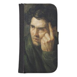 Retrato de señor Byron Fundas Billetera De Galaxy S4