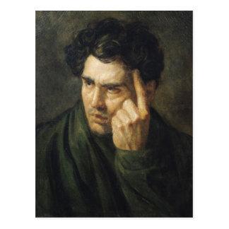 Retrato de señor Byron Tarjetas Postales