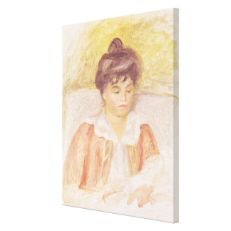 Retrato de señora Albert Andre Impresión En Lienzo Estirada