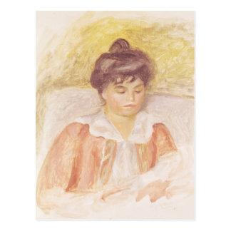 Retrato de señora Albert Andre Postal