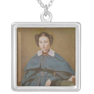Retrato de señora Baudot, la sobrina del artista Collar Plateado