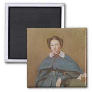 Retrato de señora Baudot, la sobrina del artista Imán Cuadrado