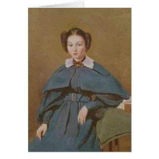 Retrato de señora Baudot, la sobrina del artista Tarjeta De Felicitación