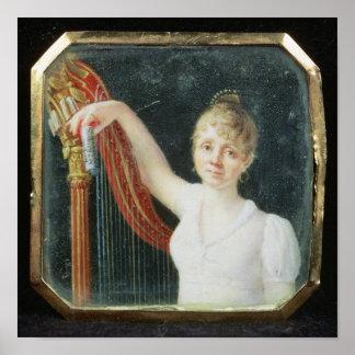 Retrato de señora Beaumont Poster
