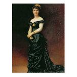 Retrato de señora Bishoffsheim, 1877 Postales