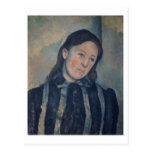 Retrato de señora Cezanne con el pelo aflojado, Postal