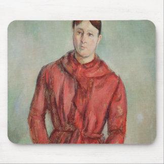 Retrato de señora Cezanne Tapetes De Ratón