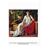 Retrato de señora Cotta (Cotta de Wilhelmina Tarjetas Postales