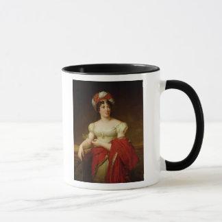 Retrato de señora de Stael