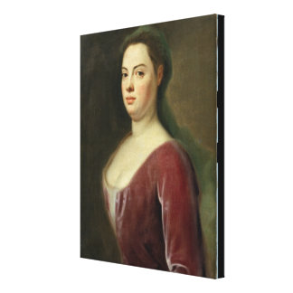 Retrato de Señora Denner Impresiones En Lona