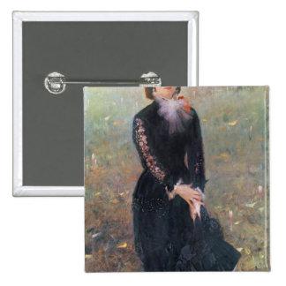 Retrato de señora Eduardo Pailleron, 1879 Pins
