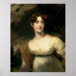 Retrato de señora Emily Harriet Wellesley-poste Impresiones