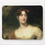 Retrato de señora Emily Harriet Wellesley-poste Tapetes De Ratones