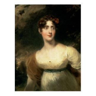 Retrato de señora Emily Harriet Wellesley-poste Postales