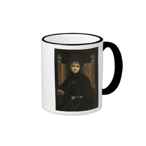Retrato de señora Georges Bizet 1878 Tazas De Café
