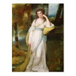 Retrato de señora Henry Maxwell Tarjetas Postales