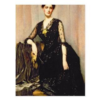 Retrato de señora Inés Williamson Postal