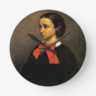 Retrato de señora Jacquet (aceite en lona) Relojes