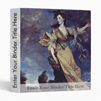 Retrato de señora Jane Halliday By sir Joshua Reyn