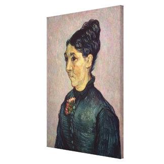 Retrato de señora Jeanne Lafuye Trabuc, 1889 Lienzo Envuelto Para Galerias