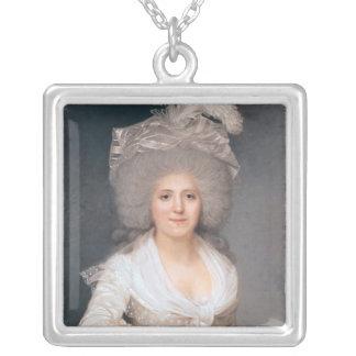 Retrato de señora Jeanne-Louise-Enriqueta Campan Joyerías