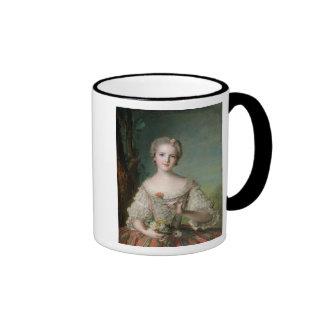 Retrato de señora Louise de Francia Taza De Dos Colores
