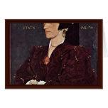 Retrato de señora Margaret Wyatt Lee Felicitaciones
