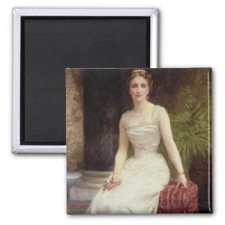 Retrato de señora Olry-Roederer, 1900 (el aceite e Imán Cuadrado