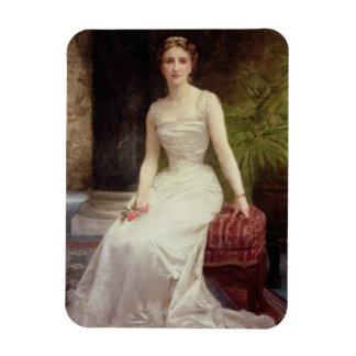 Retrato de señora Olry-Roederer, 1900 (el aceite e Imanes De Vinilo