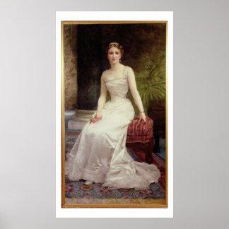 Retrato de señora Olry-Roederer, 1900 (el aceite e Póster