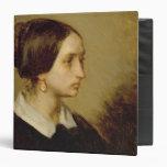 """Retrato de señora Ono, 1844 Carpeta 1 1/2"""""""