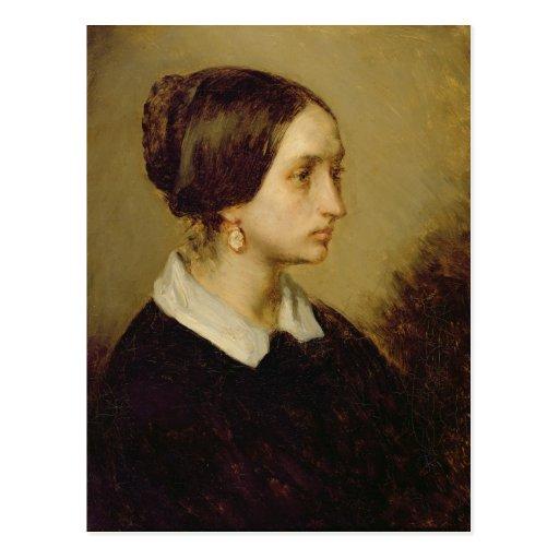Retrato de señora Ono, 1844 Postal