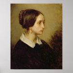 Retrato de señora Ono, 1844 Póster