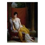 Retrato de señora Recamier Postal