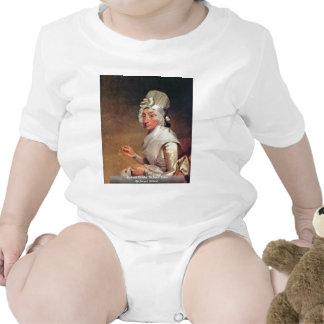 Retrato de señora Richard Yates By Estuardo Traje De Bebé