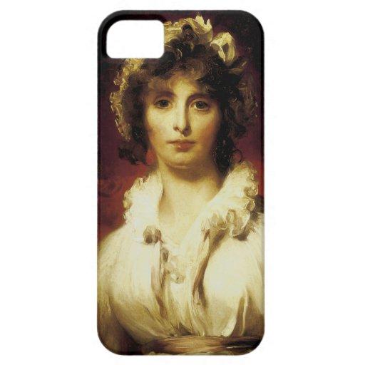 Retrato de señora Roberto Burne-Jones iPhone 5 Carcasa