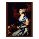 Retrato de señora Sarah Siddons de Gainsborough Th Postal