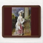 Retrato de señora Thomas Graham By Thomas Gainsbor Alfombrillas De Raton