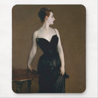 Retrato de señora X de John Singer Sargent, 1884 Alfombrillas De Raton