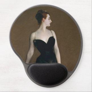 Retrato de señora X de John Singer Sargent, 1884 Alfombrillas De Ratón Con Gel