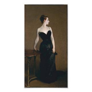 Retrato de señora X de John Singer Sargent, 1884 Fotografías