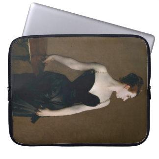 Retrato de señora X de John Singer Sargent, 1884 Fundas Portátiles