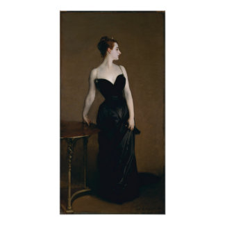 Retrato de señora X de John Singer Sargent, 1884 Posters