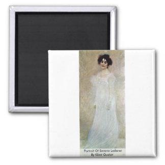 Retrato de Serena Lederer de Klimt Gustavo Iman De Frigorífico