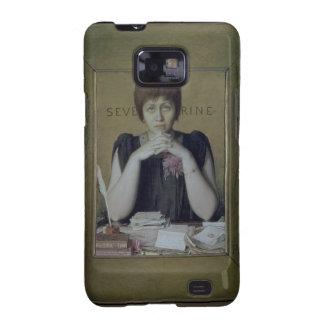 Retrato de Severine (Caroline Remy) (1855-1929) ( Galaxy S2 Fundas