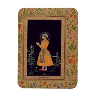Retrato de Shah Jahan (1592-1666) Mughal, c.1632 Imanes De Vinilo