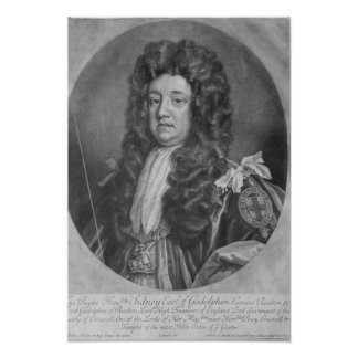 Retrato de Sidney Godolphin Póster