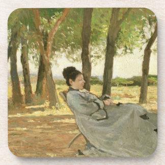 Retrato de Signora Martelli (aceite en lona) Posavaso
